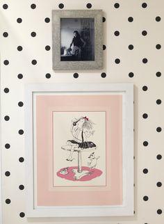 Nursery Closet Inspiration via Aesthetic Oiseau. So cute for a little girl's room (and who dosen't adore Eloise?!)