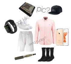 """""""fucckboy attire"""" by foreverfashiongirll ❤ liked on Polyvore featuring NIKE, Emporio Armani and coverups"""
