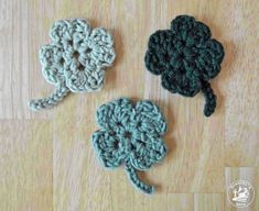 The Easiest Shamrock Crochet Pattern Ever!