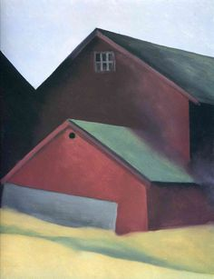 Georgia O'keeffe Ends of Barns print for sale. Shop for Georgia O'keeffe Ends of Barns painting and frame at discount price, ships in 24 hours. Cheap price prints end soon. Georgia O'keeffe, Alfred Stieglitz, Wisconsin, Georgia O Keeffe Paintings, New York Art, Lake George, Art Institute Of Chicago, Pablo Picasso, Community Art