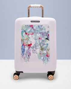 Hanging Gardens large suitcase - Nude Pink   Bags   Ted Baker UK
