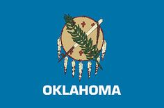 Oklahoma State Flag~lived here from 4th grade until my second year of college.  it's what i consider my 'hometown'...tulsa! '78-'89