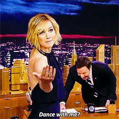 When She Made Jimmy Fallon Laugh This Hard We'll dance with you, Jen! Call us, OK?   25 Times You Wanted Whatever Jennifer Lawrence Was Having