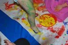 Arte y expresión...jugar a ser artistas. Para bebés de 12 a 36 meses.