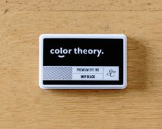 Want. Color Theory Ink Pad: Inky Black at @studio_calico