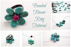 Pandahall.com offers you jewelry making ideas and easy picture instruction to help you to finish this beads ring.