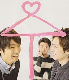 Aiba-chan × Satoshi ×Jun