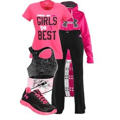 Ua workout clothes sport outfits, workout attire, sporty out Workout Attire, Workout Wear, Workout Outfits, Nike Workout, Workout Tanks, Winter Outfits, Summer Outfits, Casual Outfits, Athletic Outfits