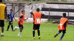 Gol do Gui Camisa 10 na avaliação Meninos da Vila em Serrana SP