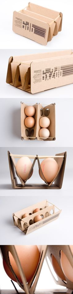 Elastic egg pack