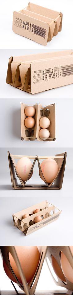 Elastic egg pack