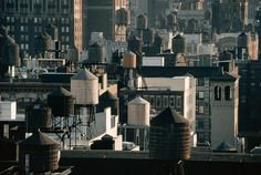 Les citernes à eau de New York City - We Love New York. Water towers