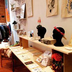Oh Raccoon à la boutique Haut les mains concept store Toulouse créateurs locaux etsy