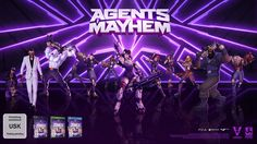 Deep Silver Volition's Agents of MAYHEM Releasing in August - http://techraptor.net/content/agents-mayhem-releasing-august | Gaming, Gaming News