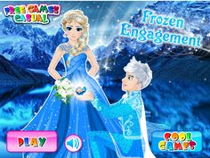 Frozen Engagement is a free Games For Girls. Here you can play this game online for free in full-screen mode in your browser for free without any annoying ...