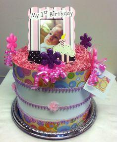 Birthday Gift 1st Birthday Gift Cake