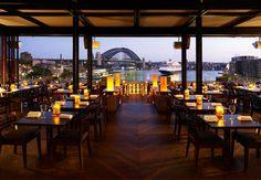 Cafe Sydney. Yep, it is every bit as romantic as it looks.
