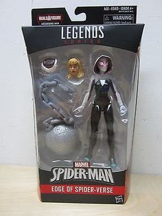 "HASBRO MARVEL LEGENDS 6"" 2016 SPIDERMAN SPIDER GWEN ABSORBING MAN BAF SEALED"