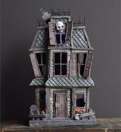 Old Haunted House from TheHolidayBarn.com