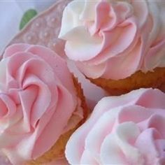 """Special Buttercream Frosting I """"My search for the perfect buttercream frosting has ended. This was so wonderful, not too sweet and so fluffy - everyone thought my cupcakes were from a bakery!"""""""
