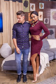 Afternoon Express, Episode 216, 11 April 2016 - See what Danilo Acquisto and Bonang Matheba are wearing