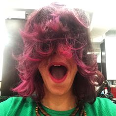 #crazyhair#pinkhair