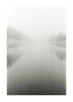 Dutch Canal Fine Art Photography Print Mist By Jkphotography