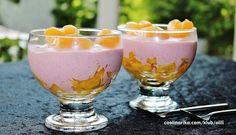 Desert sa jagodama i dinjom