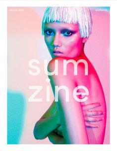 Fashion magazine Sumzine is advocating slowing down in order to move forward
