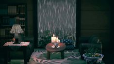 Animal Crossing Qr Codes Clothes, Animal Crossing Game, Animal Games, My Animal, Rainy Window, Motifs Animal, Island Design, New Leaf, Rainy Days