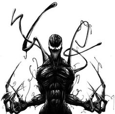 Carnage in black.