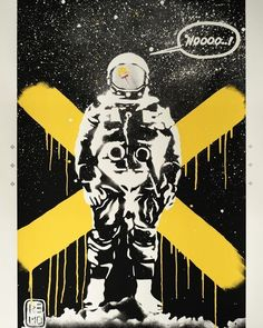 The multitalented Remo Camerota brings us 'Mac on the Moon. Camerota works in variety of mediums seamlessly moving from video to illustration. See more of his fantastic prints here http://ift.tt/1M89lAU #remocamerota #prints #urbanart #ScreamEditions