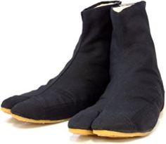 Ninja Tabi Shoes Shoes Low Top Comfort-Cushioned! Rikio JikaTabi Shoes