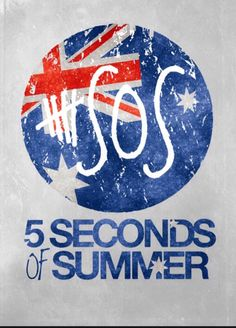5 Seconds of Summer 5 Seconds Of Summer, Great Bands, Cool Bands, Punk Rock, Rock Boy, 5sos Logo, Independance Day, Michael Clifford, 1d And 5sos