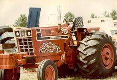 Truck And Tractor Pull, Tractor Pulling, International Tractors, International Harvester, Vintage Tractors, Monster Trucks, Vehicles, Ih, Farming