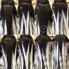 For all my stylists friends who have issues with their sectioning for Hair…