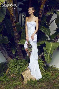 00327 Weird Wedding Dress, One Shoulder Wedding Dress, Wedding Dresses, Bridal Gowns, Charo Ruiz, Ibiza Fashion, Best Husband, Glamour, Mermaid Dresses
