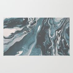 Teal (soul mate) Rug by DuckyB  | Society6