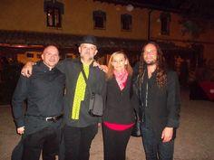 Con Alfonso Otero, Juan Jose Gil, MªJose Sanz y El Amir en las II Jornadas de la Guitarra Española 2015. Fundación Guitarra Flamenca www.fundacionguitarraflamenca.com
