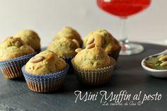 Mini muffin al pesto dei finger food salati perfetti in un buffet e come antipasto per una cenetta tra amici e famiglia ricetta mini muffin al pesto