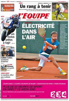 L'Équipe - Vendredi 5 Avril 2013 - N° 21448