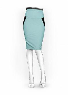 Falda - Patrón de costura #5934