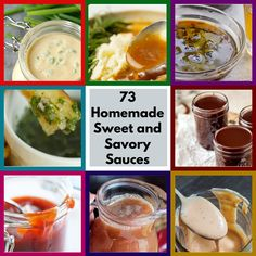 73 Sweet and Savory Homemade Sauces That Will Prevent You From Going Store-Bought Ever Again Sauce Recipes, Cooking Recipes, My Favorite Food, Favorite Recipes, Pesto Sauce, Sweet Sauce, Homemade Sauce, Yummy Food, Ethnic Recipes