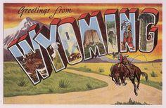 Wyoming - Vereinigte Staaten von Amerika / United States of America / USA