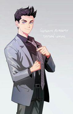 Read Damian Wayne x reader from the story Young Justice X Reader (One Shots) by all_things_dean (𝓡𝓸𝓼𝓮𝓵𝓮𝓷) with reads. Batman Y Superman, Son Of Batman, Batman Robin, Batman Arkham, Batman Art, Tim Drake, Damian Wayne, Nightwing, Gotham Academy