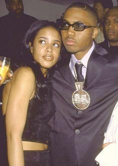 Aaliyah and Nas