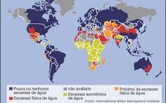 CARLOS  -  Professor  de  Geografia: Guerra da Água é silenciosa, mas já está em curso