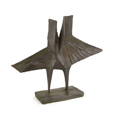 Lynn Chadwick / Maquette I, Stranger / 1967 / bronze with black patina