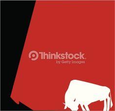 Vector Art : Spanish bull