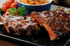 Scrumptious grilled ribs with a cherry chili glaze. Grilled Ribs With Cherry Chili Glaze Recipe from Grandmothers Kitchen. Rib Recipes, Copycat Recipes, Grilling Recipes, Great Recipes, Cooking Recipes, Favorite Recipes, Cooking Ribs, Yummy Recipes, Dinner Recipes